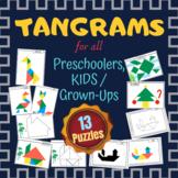 Tangram Puzzles for Preschoolers, Kids