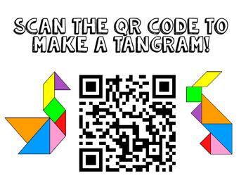 Tangram QR code