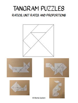 Tangram Ratio, Unit Rate and Proportions