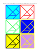 Tangram Seven Boards of Skill Dissection Puzzle Game 7 Flat Shapes Printable 5pg