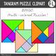 Tangrams Clipart