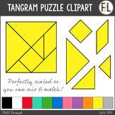 Tangram Puzzles - Clipart