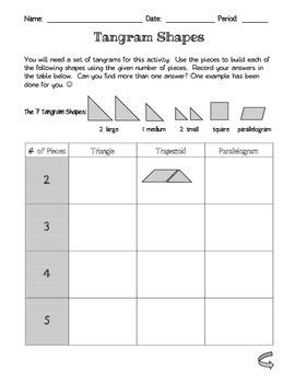 Tangram Shapes