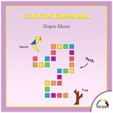 Tangram - Geometry 1: Shapes mazes - Patterns