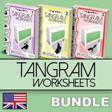 Tangram Worksheets - BUNDLE