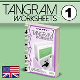 Tangram Worksheets VOL.1 - 84 double-sided worksheets