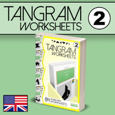 Tangram Worksheets VOL.2 - 84 double-sided worksheets