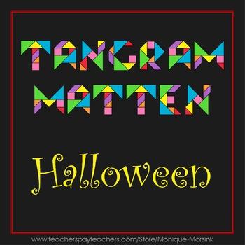 Tangrammatten - Halloween