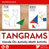 Tangrams Animal Shapes Printable and Digital
