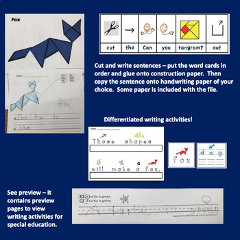Tangrams Activities for Autism and Special Education