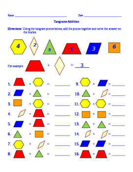 Tangrams Addition