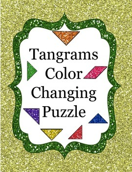 Tangrams Color Changing Puzzle