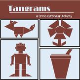 Tangrams  - Kindergarten & 1st Grade Geometric Art