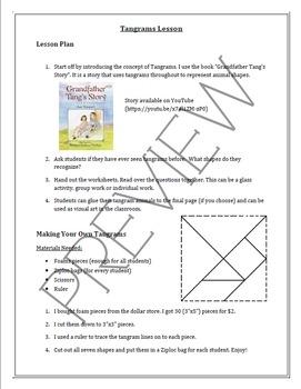 Tangrams Lesson
