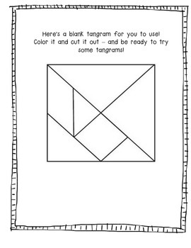 Tangrams!  Read to learn!