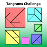 Tangrams Challenge - First Day Geometry Activity