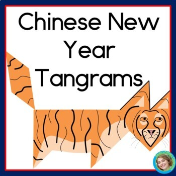 Tangrams for Chinese New Year