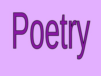 Tanka Poetry Powerpoint