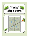"""Tanks"" - A Game to Practice Graphing Slope"