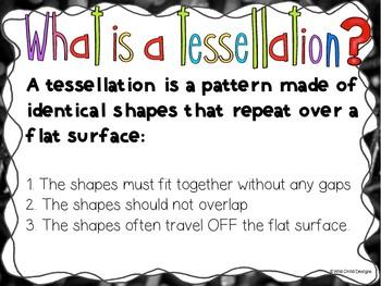 Math & Art Project-Based Learning: Geometry & Tantalizing Tessellations