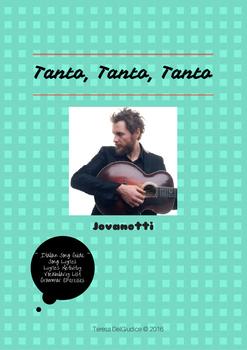Tanto, Tanto, Tanto by Jovanotti (Italian Song Guide)