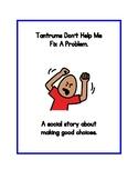 Tantrum's Don't Help Me - A Social Story