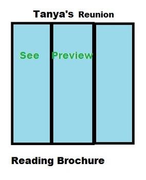 Tanya's Reunion Reading Vocabulary foldable