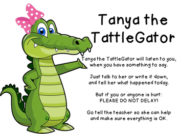 Tanya the Tattlegator