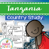 Tanzania Booklet Country Study Project Unit