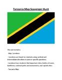 Tanzania Map Scavenger Hunt