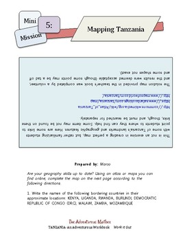 Tanzania: Work It Out ~ Critical thinking and country-specific lessons