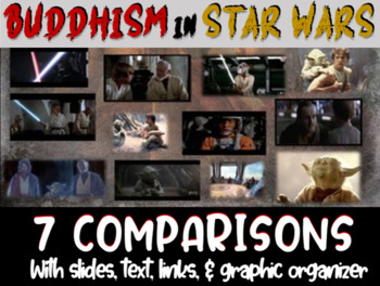 Taoism & Buddhism in Star Wars: 14 Connections (w 14 video links) 35-slide PPT