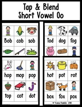 Tap & Blend Short Vowel Oo