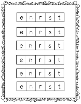 "Tap It, Make It, and Write It Phonics Activity (Short ""e"")"