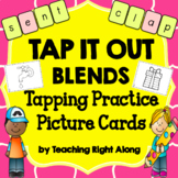 Tap It Out Blend Picture Tapping Cards (Initial and Final Blends)