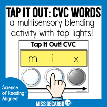Tap It Out! CVC Intervention