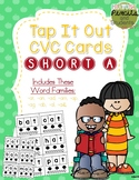 Tap It Out CVC Words - Short A Segmentation Cards