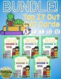 Tap It Out CVC Words - Short Vowels Segmentation Cards Bun