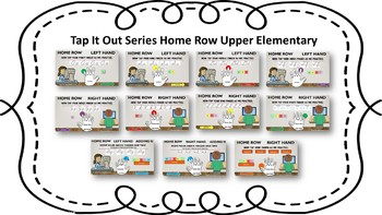 Tap It Out Keyboarding Home Row For Upper Elementary