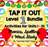 Tap It Out Level 1 Phonics Bundle (Units 1-14)
