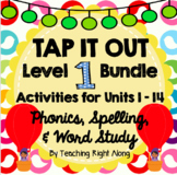Tap It Out Level 1 Phonics Bundle (Units 1-14)