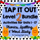 Tap It Out Level 2 Phonics & Fun Bundle Pack
