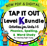 Tap It Out Level K Year Long Bundle