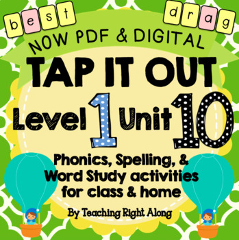 Tap It Out Unit 10 Level 1 (5 sound words, trick words, suffixes)
