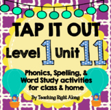 Tap It Out Unit 11 Level 1 (Long Vowel v-e Patterns)