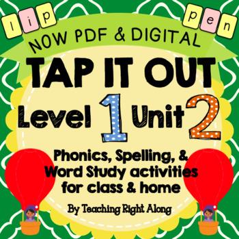 Tap It Out Unit 2 Level 1 (Short Vowel and Consonant Sounds)