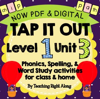Tap It Out Level 1 Unit 3 (Digraphs)
