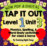Tap It Out Level 1 Unit 3 (Digraphs)