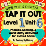 Tap It Out Unit 6 Level 1 (Suffix s)