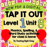 Tap It Out Unit 8 Level 1 (blends)
